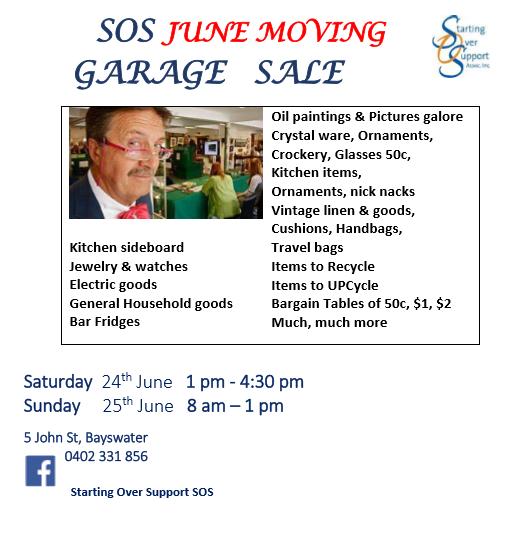 Garage Sale June