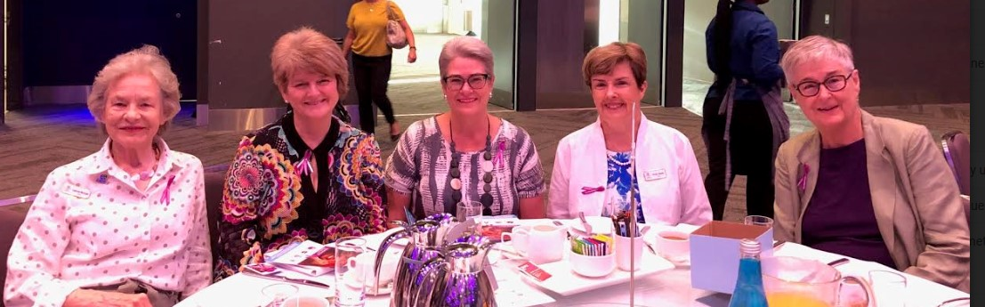 20200304 IWD breakfast Lennie Mccall carole theobald Anne banks mcallister vicky nazer and janice dudley